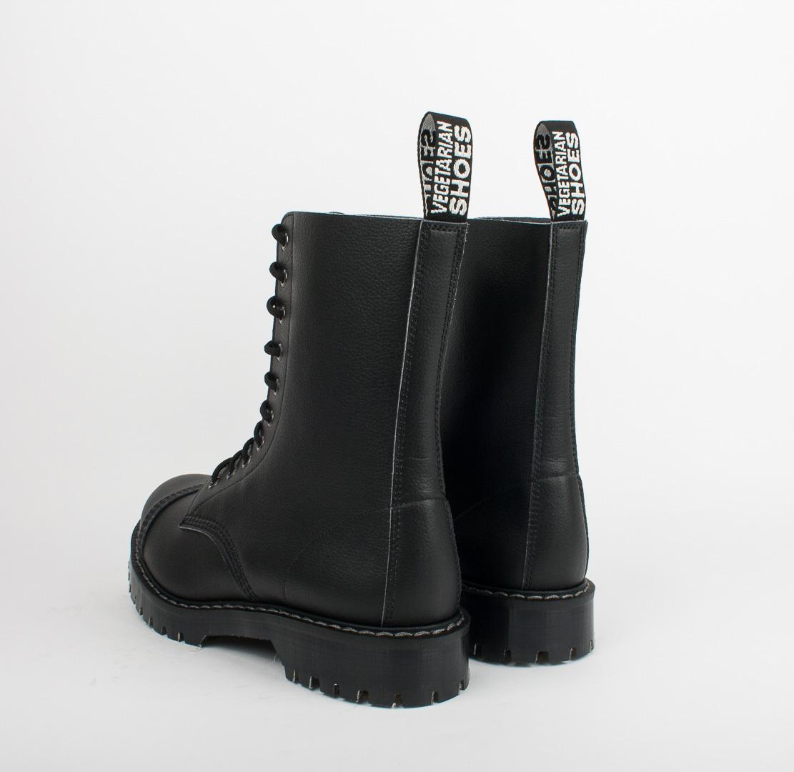 Airseal 10 eye boot steel toe black