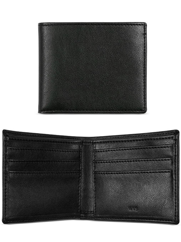 Slim Billfold Wallet Black