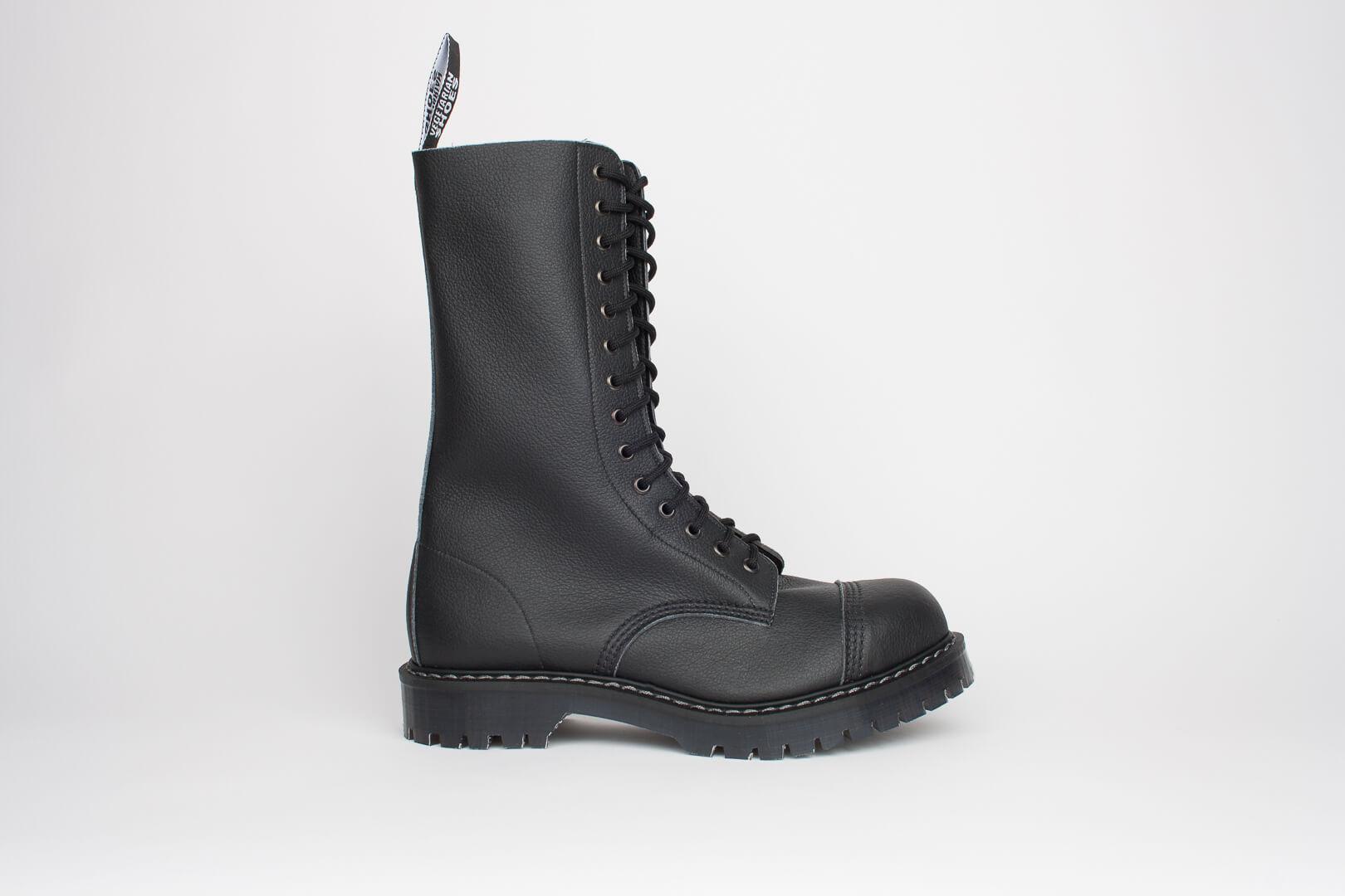 Airseal 14 Eye Boot Steel Toe Black