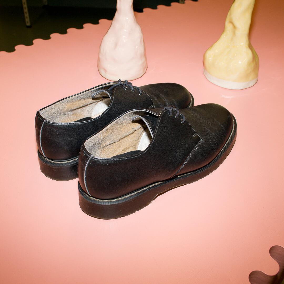 Svart lågsko stl 44 Vegetarian Shoes